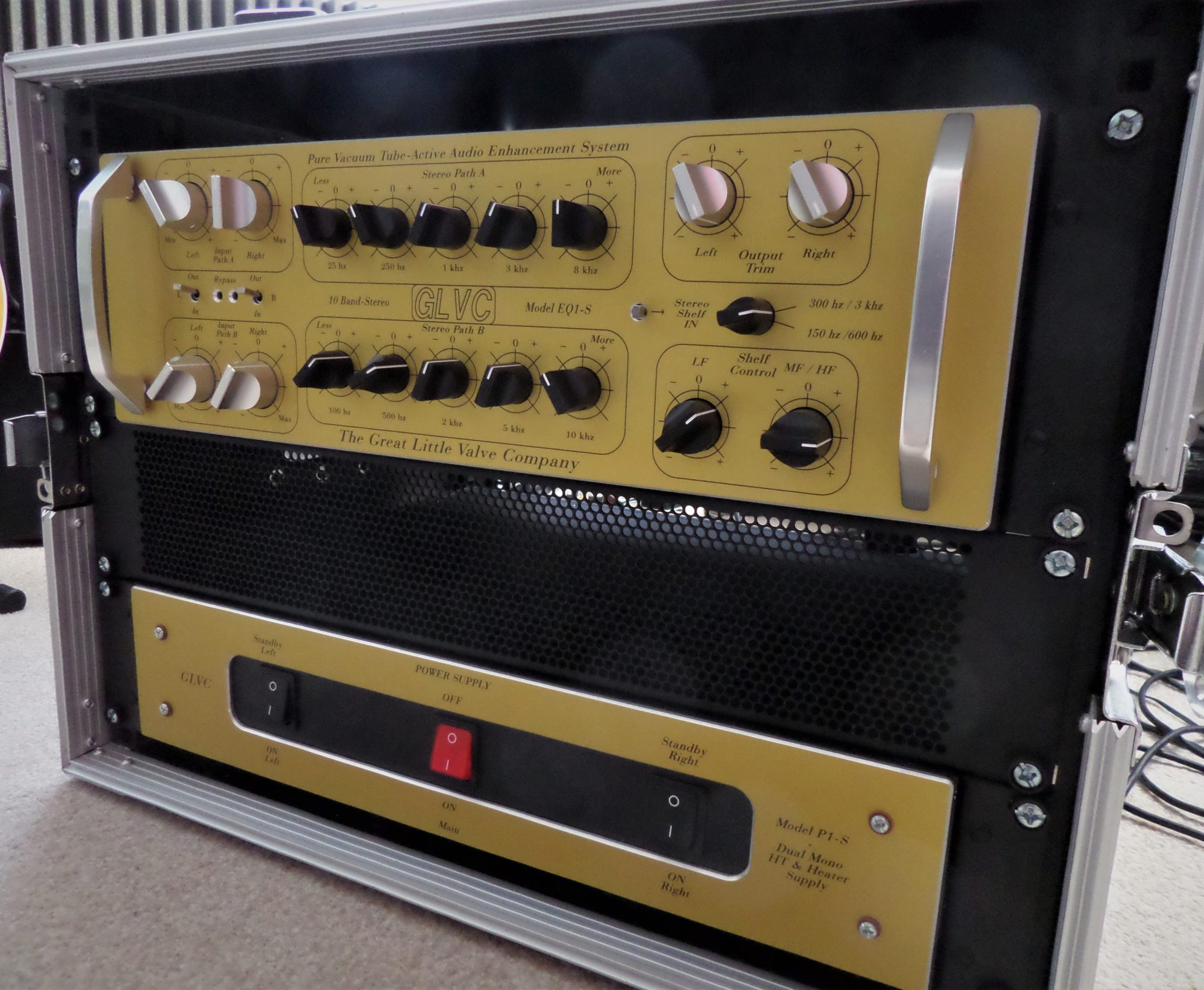 The ultimate analogue vacuum tube tone control system